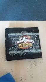 A little kids Power Rangers Wallet