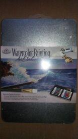 Artist's Watercolour Painting Art Set