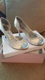 Rainbow Club wedding shoes, size 7, £25