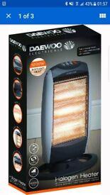 Daewoo halogen heater