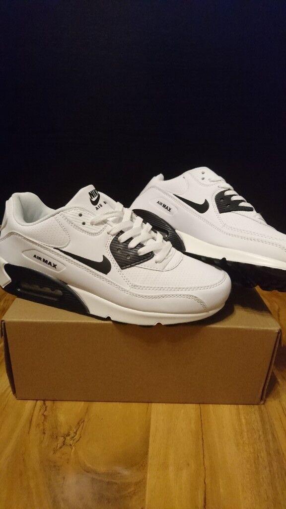 9c5265ec6e0 Mens Womens Nike Air max force 90 95 97 White size 7.5 Trainers shoes  adidas air jordan huaraches