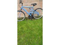Ladies full suspension bike. . City centre
