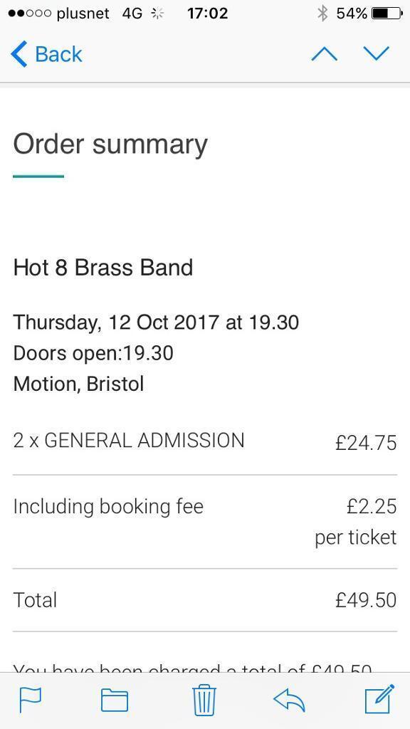 Hot 8 brass band x2