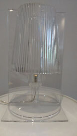 Iconic 'Take' Kartell table lamp designed by Ferruccio Laviani
