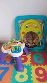 Vtech Activity Table + baby walker