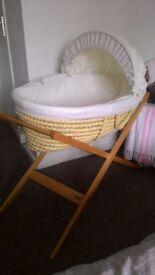 Moses basket, John Lewis,10£ guildford