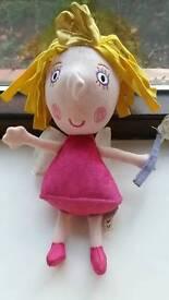 Princess holly talking plush toy