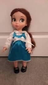 Disney Animation Belle doll.