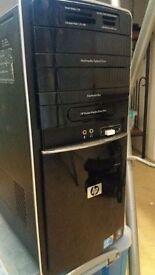 HP i5 Desktop + Monitor