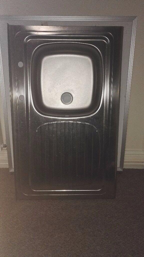 Brand new stainless steel sink unused