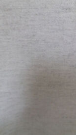 Laura Ashley linen fabric. Natural.