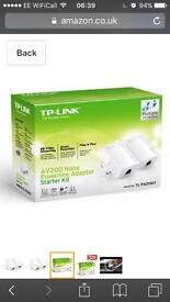 Tp link poweline adapter starter kit