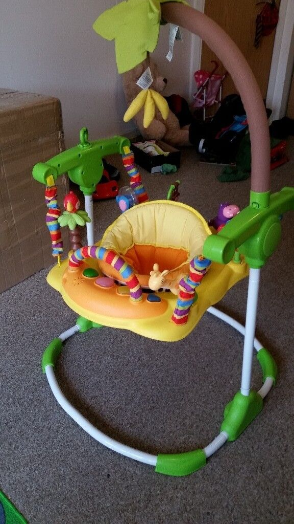 082030493851 multiple colors 5130e d32c9 entertainer baby bouncer ...