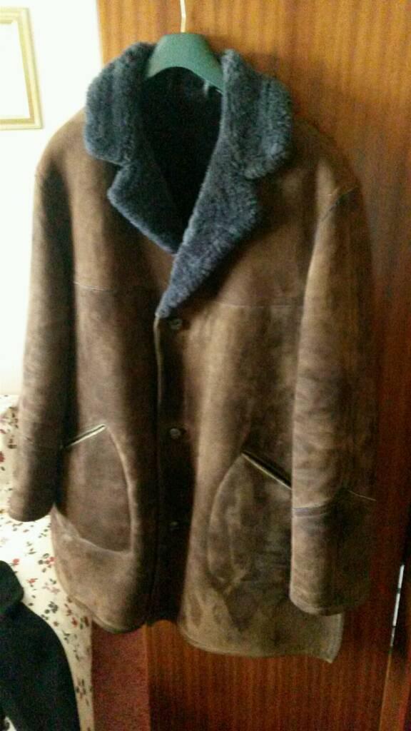 Mens Sheepskin coat 42/44