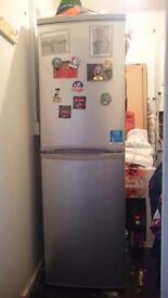 Candy Silver Fridge Freezer just over 18 months old cost over £300
