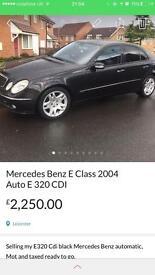 Mercedes Benz E Class Auto E320 CDI