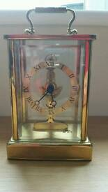 Glass sided Carriage Clock