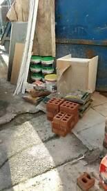 Various building materials