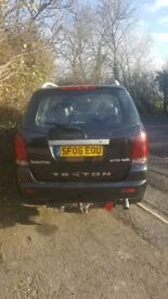 Ssangyong Rexton 12 months MOT, 4 new all weather tyres, perfect condition, selling due to new car