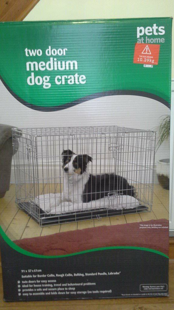 Medium 2 Door Dog Cratecage By Pets At Home In Maidstone Kent