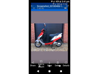 Peugeot v-clic 50cc moped