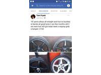 18' penta alloy wheels