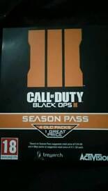 Call Of Duty Blackops 3 Season Pass PS4