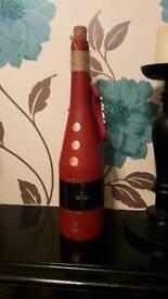 """Children's santa """"wine"""" bottle"""