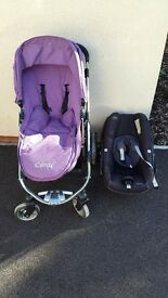 iCandy Apple pram and Pebble car seat