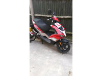 NON WORKING beeline 50cc ... £100 no offers ... can be fixed or used for spares