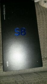 Samsung galaxy s8. brand new on ee..
