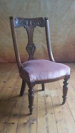 antique nursing chair