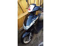 Peugeot kisbee moped 2015 50cc