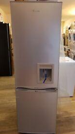 SR5330w 55cm Fridge Freezer With Water Dispenser in silver