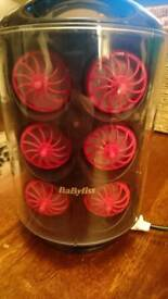 Babyliss and remington heated curling pods