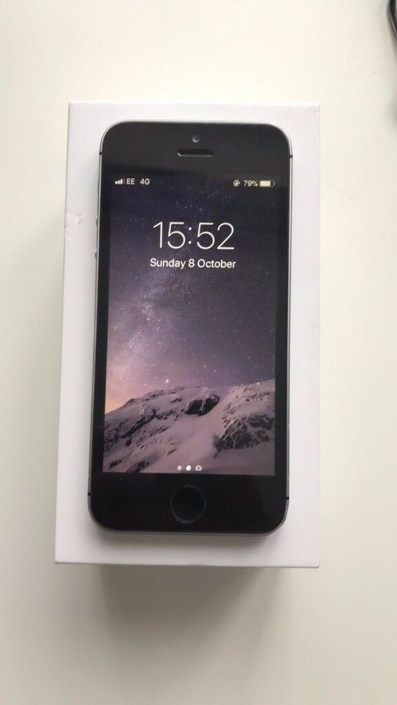 iPhone SE - 64 GB - Space Grey - On EE