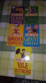 5 KIDS HORRIBLE HISTORY BOOKS