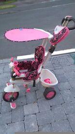 Toddler push along bike tric