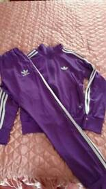 Adidas ladies tracksuit