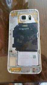 Samsung s6 32gb unlocked in gold platinum