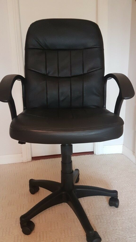 Leather Hydraulic Office Chair