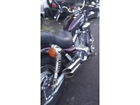 YAMAHA VIRAGO-550-17K-V5-S/H--550 VIRAGO-17K-NEEDS SERVICING-needs a van to collect-SENS-OFFER-PLS