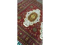 very light carpet-rug