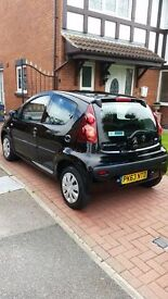 Very Low Milage One Owner Peugeot 107 Active £0 tax, low insurance group. In showroom condition.