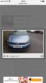 2010 vw golf tdi very good condition, very good price. £2000.00 no offers