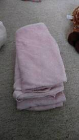 3x hooded baby towels