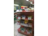 Shop Shelving 90cm Wide