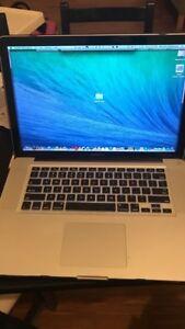 Macbook pro 2009 make