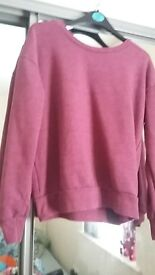 plain sweater size 6