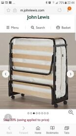 Unused JAY-BE folding bed for sale